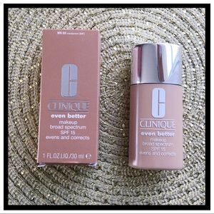 NEW Clinique Even Better Makeup Foundation WN69
